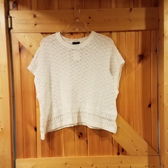 58399dc150660f Lumiere Tops | Modcloth White Crochet All Jasmine Top | Poshmark